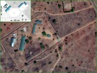 Locatie en infrastructuur in Ghana via Google Maps
